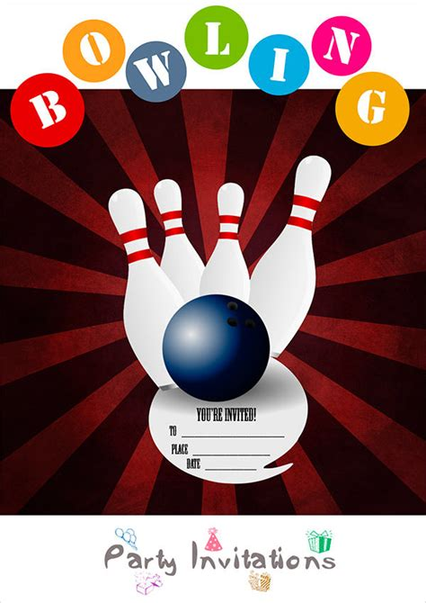46 Party Invitation Designs Free Premium Templates Bowling Invitation Template Word