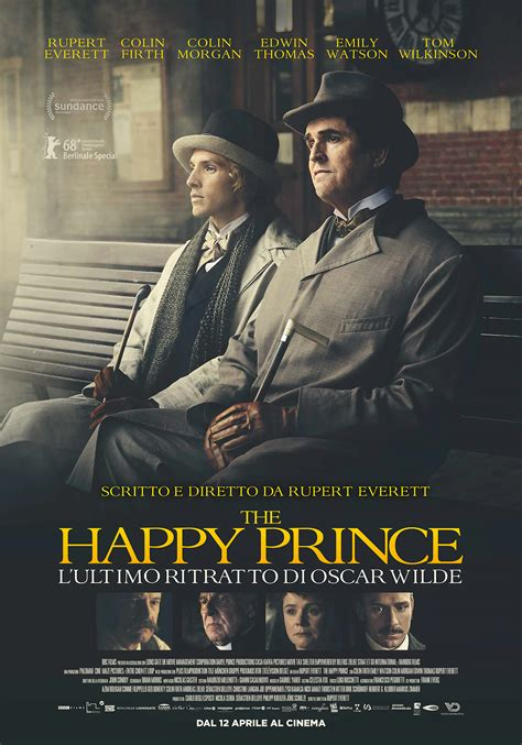 film oscar wilde the happy prince il poster del film su oscar wilde