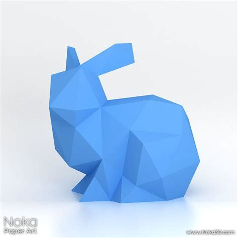Papercraft Rabbit - the world s catalog of ideas
