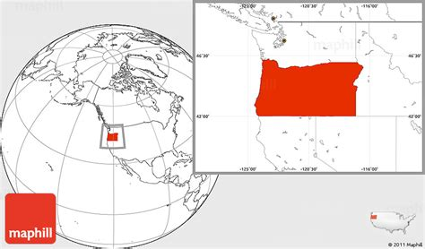 where is oregon located on the map blank location map of oregon