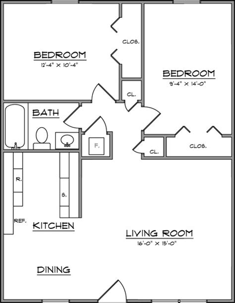 typical square footage of a bedroom average size of 2 bedroom apartment home design gt gt 19
