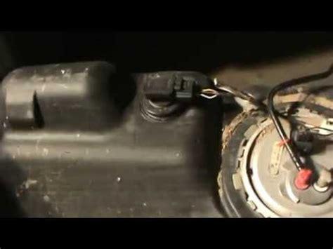fuel tank pressure transducer sensor youtube