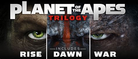 Of The by Planet Of The Apes Trilogy Fox