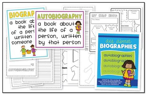 biography ideas for 3rd graders lessons on pinterest popcorn words phonics and worksheets
