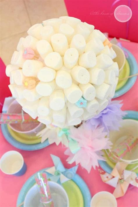 Themes For Marshmallow | marshmallow topiary from kara s party ideas more ideas