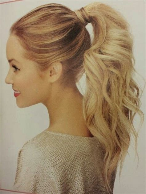 Ponytail Hairstyles by Model Hairstyles For Ponytail Hairstyles For Prom S