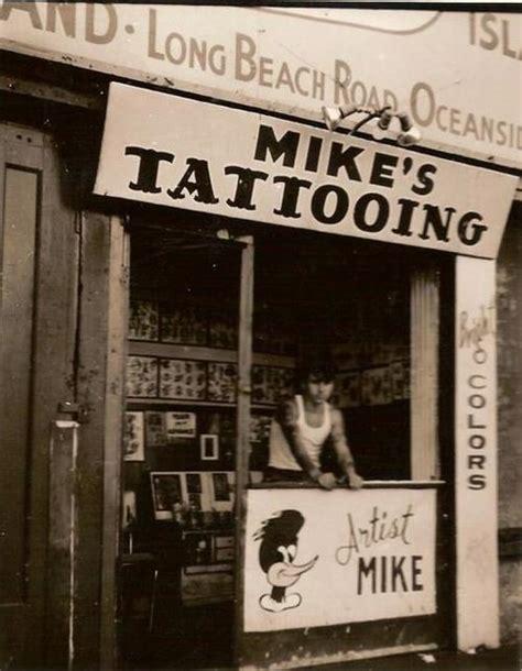 tattoo parlor history mike colontuano coney island 1950 s tattoos