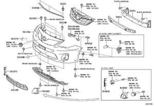 Toyota Auris Parts Toyota Yaris Parts Diagram Periodic Tables