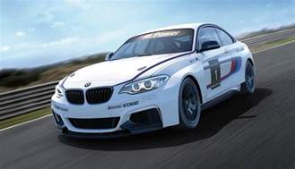 here is the bmw m235i racecar