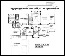 large contemporary ranch style house plan cr 3191 sq ft