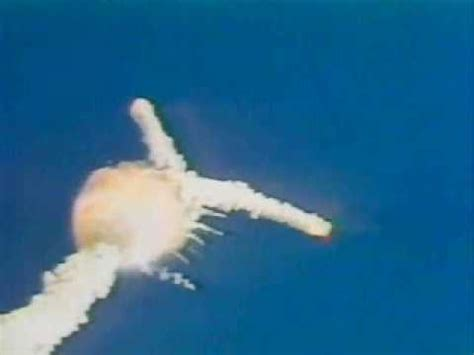 the space shuttle challenger blows up youtube