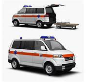 Suzuki APV Ambulance 3D Model  FormFonts Models &amp Textures