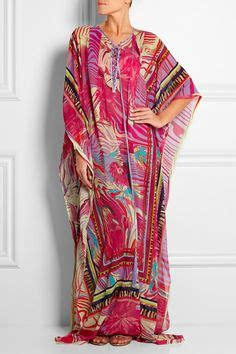 Kaftan Roberto Cavally Real Picture Original Khz emilio pucci printed cotton and silk voile kaftan net a porter shop style