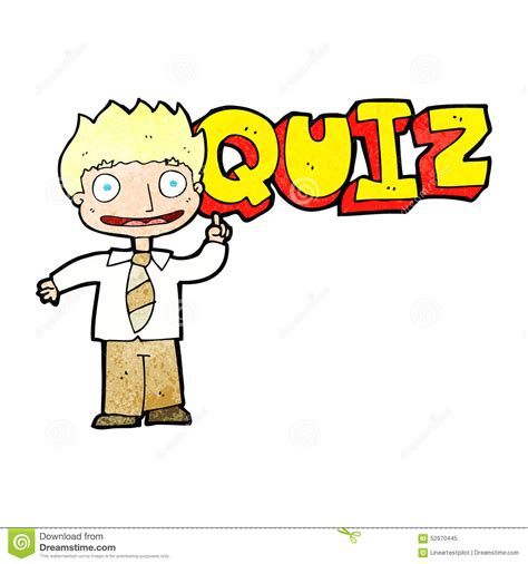 Drawing Quiz by Quiz Sign Stock Illustration Image Of Drawing