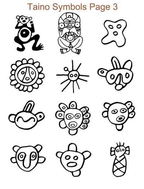 taino symbol tattoo designs taino symbols taino sculpture taino