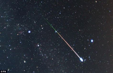 a meteor shower will light up skies around the world with
