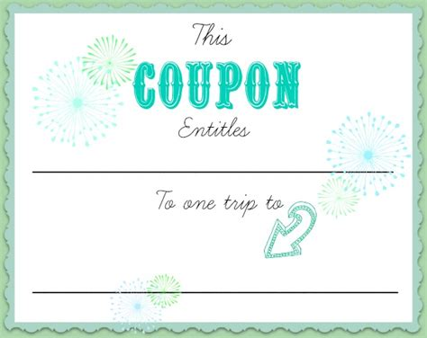coupons create your own