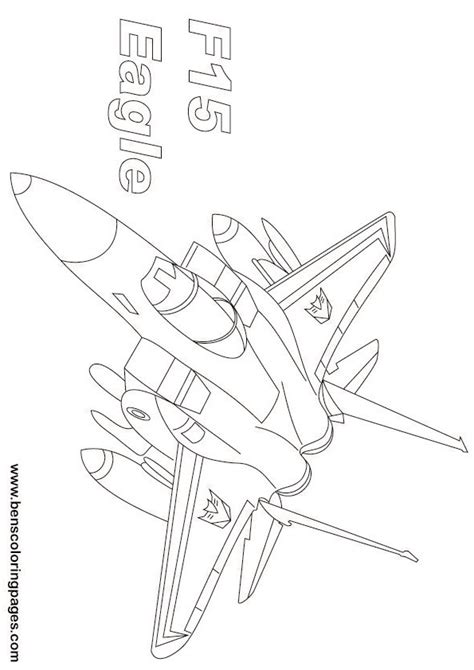 Coloring Page 15 by F 15 Eagle Coloring Pages Coloring Pages