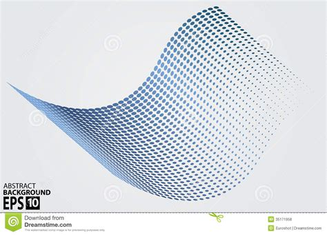 dot pattern wave halftone circle dots wave vector illustration royalty