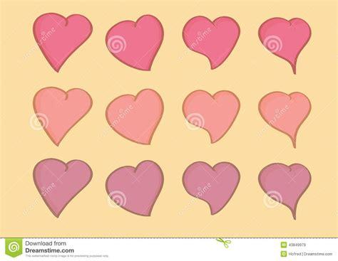heart shaped pattern code heart shape repeated pattern wallpaper stock vector