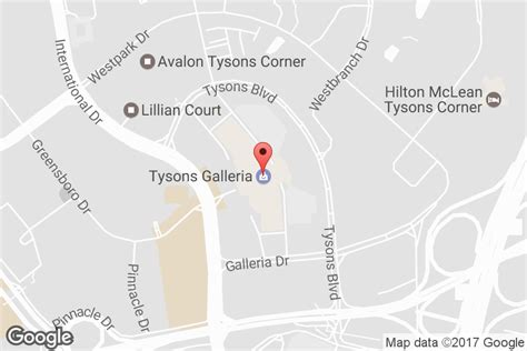 Ggp Gift Card Locations - mall hours address directions tysons galleria