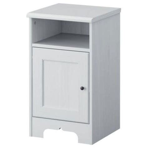 White Ikea Nightstand Ikea Aspelund Nightstand White For Sale Home Furnitures Pinterest