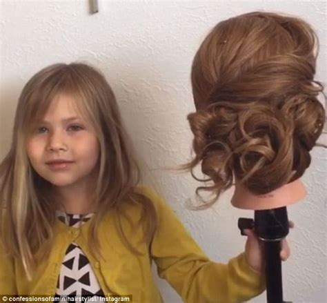 hair tutorial videos instagram arizona 5 year old girl becomes instagram star thanks to