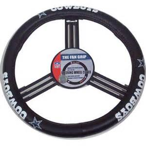 Steering Wheel Covers Dallas Cowboys Dallas Cowboys Leather Steering Wheel Cover