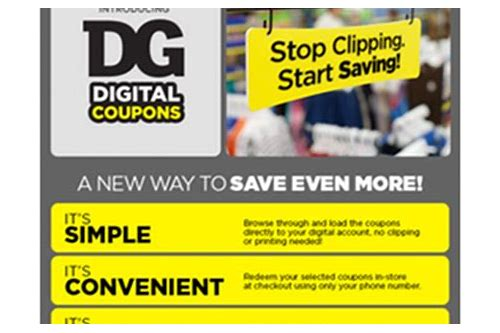 does dollar general accept mfg coupons