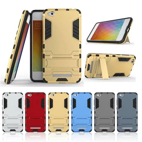 Casecasing Though Armor For Xiaomi Redmi 4a Free Tempered Glass xiomi redmi 4a for xiaomi redmi 4 a tpu armor hybrid impact shockproof kickstand cover for