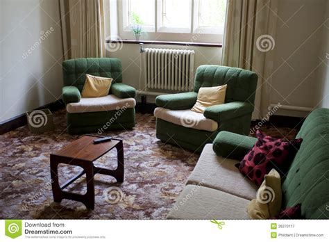 old living room old style living room royalty free stock photography