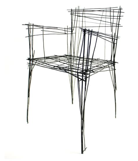How To Draw A 3d Chair Step By Step by Real 3d Sketches 3 Furniture Sets That Draw On 2d Doodles