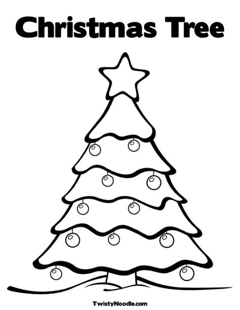 coloring page of christmas tree coloring christmas tree 171 free coloring pages