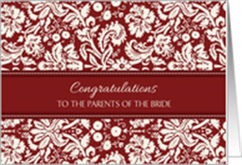Wedding Congratulations To Parents Of The by Wedding Cards For Parents Of The From Greeting Card