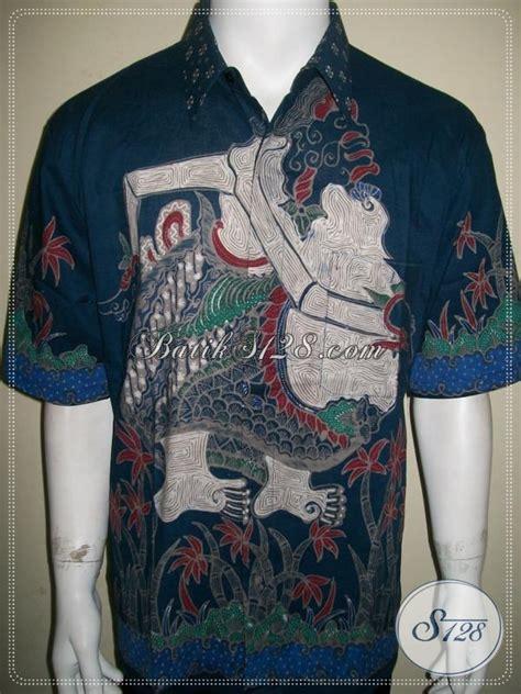 Kemeja Batik Semar batik semar batik tulis pria motif wayang semar lengan