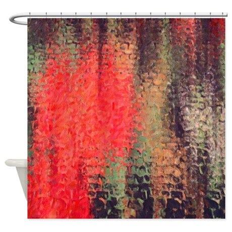 orange brown shower curtain orange and brown shower curtain by familyandbaby