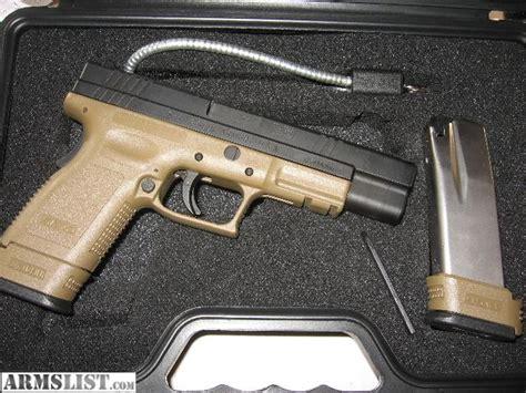 springfield xd 45 acp tactical light armslist for sale quot springfield armory xd tactical 45