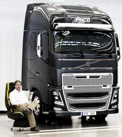 volvo truck design major design challenge for volvo trucks