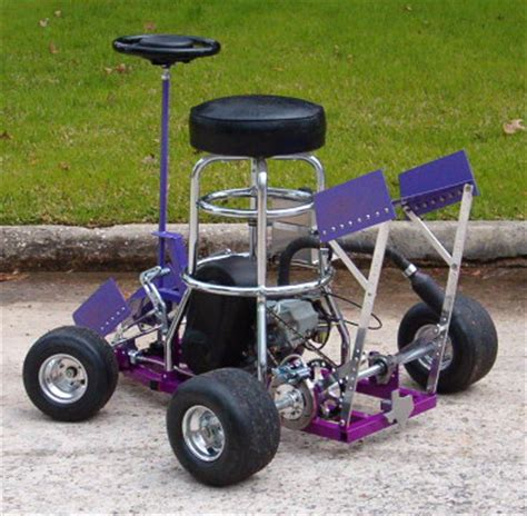 bar stool racer frame diy rally 2007 runners up part 6 beaten by the monowheel