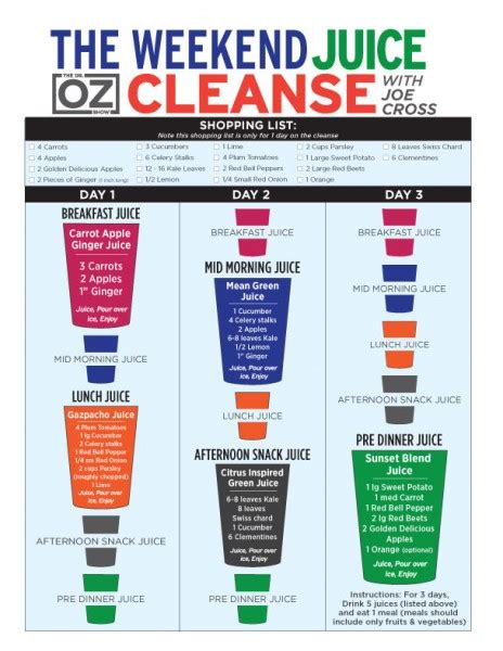 Dr Oz 3 Day Detox Juice by 3 Day Cleansing Diet Best Diet Solutions Program