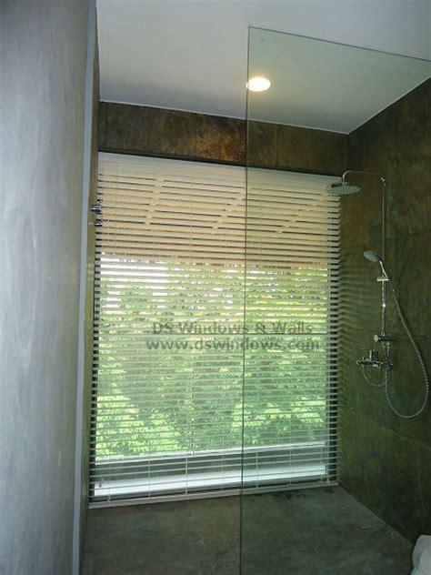 waterproof blinds for the bathroom waterproof foam wood blinds for large bathroom window