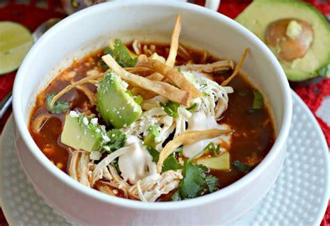 imagenes sopa azteca autentica sopa de tortilla mexicana my latina table
