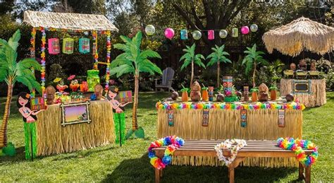 hawaiian themed outdoor decor top 3 themes and ideas for a hit cocktail