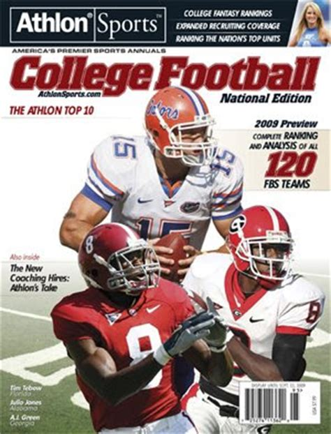 alabama football: the athlon sports 2009 national college