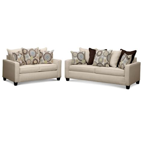 city furniture living room value city furniture living room rendezvous 2 pc living