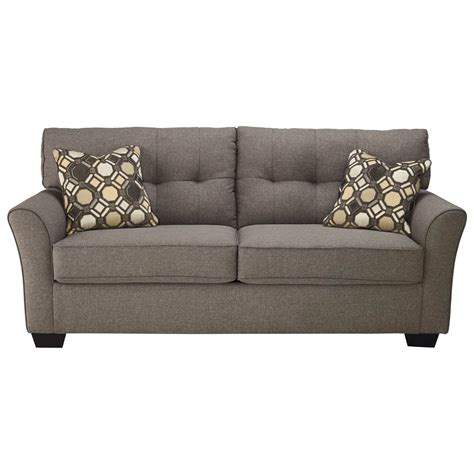 ashley tufted sofa signature design by ashley tibbee contemporary sofa with