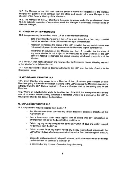 llp agreement template united kingdom llp offshore zones offshore and