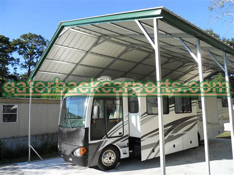 Rv Canopy Carport Understanding Rv Carport Heights And Their Components