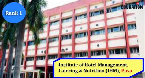 Mba Colleges Ranking India Today by Top 10 Hotel Management Colleges In India Featurephilia