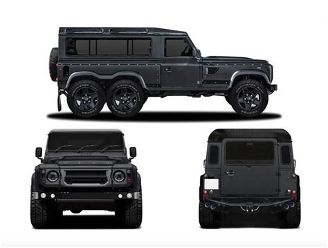 flying huntsman land rover s new six wheeler the new daily